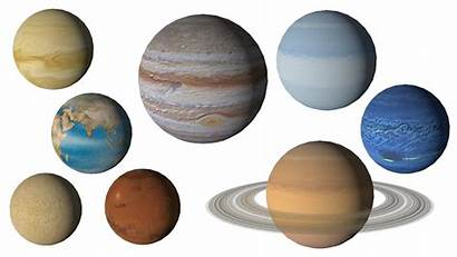 Solar System Transparent Background Planets Space Moon