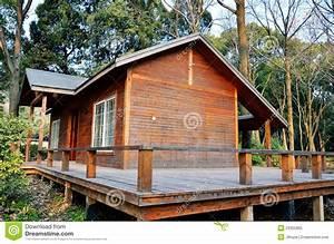 Petite Maison En Bois Image Stock  Image Du Home