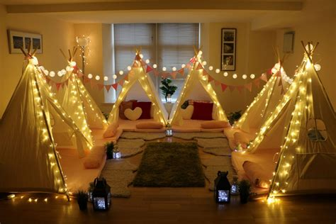 incredible indoor parties indoor mini tipis activity