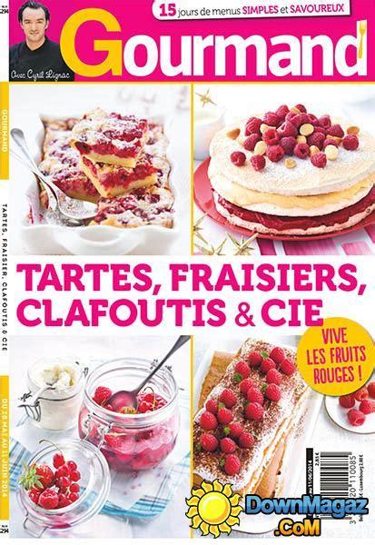 gourmand magazine cuisine gourmand 28 mai 2014 no 294 pdf magazines