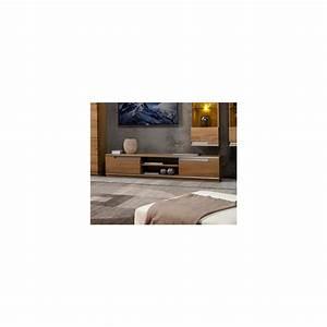 Meuble Tv 180 Cm : meuble tv torino 180cm ch ne ~ Teatrodelosmanantiales.com Idées de Décoration