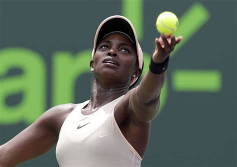 tennis american stephens beats ostapenko for miami open title west hawaii today