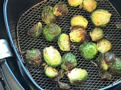 sprouts brussels fryer air crispy oven cooked bake curry