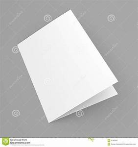 Single Page Brochure Template Blank Folded Flyer Booklet Postcard Business Card Or