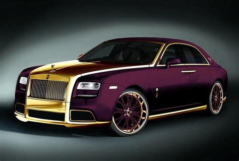 """2012 Rolls Royce Ghost """"Paris Purple"""" By Fenice Milano"""