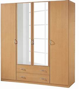 Armoire 4 Portes : armoire 4 portes 2 tiroirs h tre kadra 3 ~ Teatrodelosmanantiales.com Idées de Décoration
