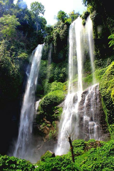 64 Bästa Bilderna Om Bali Waterfalls Air Terjun På