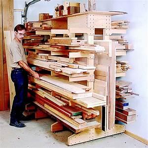 Modular Lumber Rack Woodworking Plan from WOOD Magazine