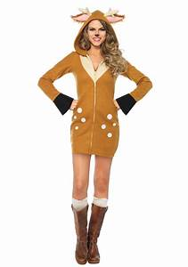 Women39s Cozy Fawn Costume