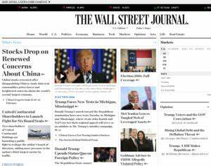The Wall Street Journal & Breaking News, Business ...