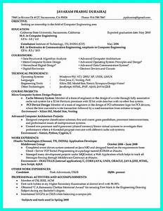 College Student Resume Objective Sample The Perfect Computer Engineering Resume Sample To Get Job Soon