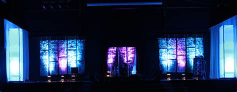 hammered church stage design ideas