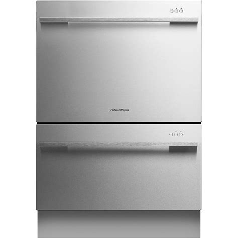 two dishwashers one fisher paykel dd24ddftx7 double dishdrawer flat door