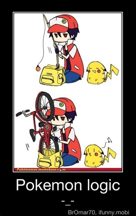 Pokemon Logic Meme - pokemon anime logic meme images pokemon images