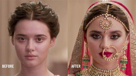 indian bride  mac cosmetics youtube