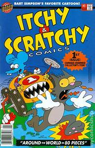 Itchy And Scratchy Comics  1993  Comic Books