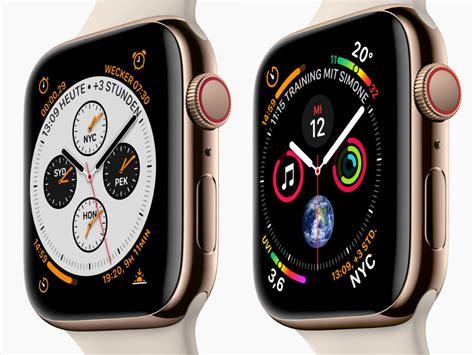 Apple Watch Series 4 Preise und Verfügbarkeit in