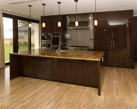 high end kitchen islands high end flat brown mirrored doors kitchen cabinet design