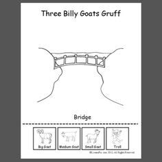 facts about goats for preschoolers the three billy goats gruff worksheets writing area 138