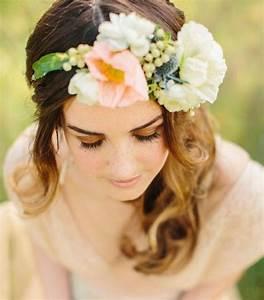 couronne de fleurs cheveux pour une mariee romantique With tapis chambre bébé avec couronne de fleurs cheveux mariage
