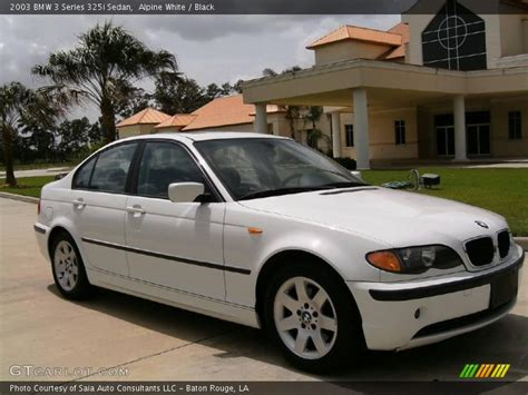 2003 Bmw 3 Series 325i Sedan In Alpine White Photo No