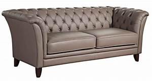 Sofa Grau Leder : chesterfield sofa couch online bestellen bei yatego ~ Pilothousefishingboats.com Haus und Dekorationen