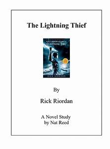 The Lightning Thief  Novel Study Study Guide For 5th