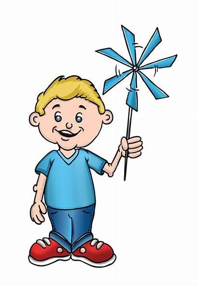 Brother Clipart Pinwheel Clip Child Drawing Cartoon