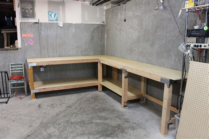 diy custom garage workbench renocompare