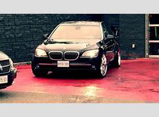 HILLYARD RIM LIONS 2009 BMW 750LI RIDING ON CUSTOM 22 INCH