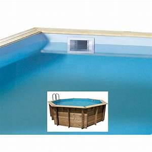 Liner Pour Piscine Hors Sol : liner piscine hors sol octogonale bois 1 liner ubbink ~ Premium-room.com Idées de Décoration