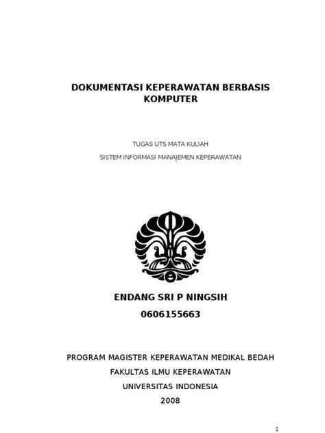 makalah Dokumentasi keperawatan