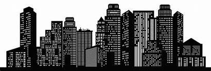 Silhouette Transparent Clipart Cityscape Clip Metropolitan Area