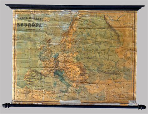 carte de murale carte murale g 233 ographique de l europe du g 233 ographe louis bonnefont