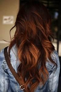 Ombré Hair Auburn : 60 brilliant brown hair with red highlights ~ Dode.kayakingforconservation.com Idées de Décoration