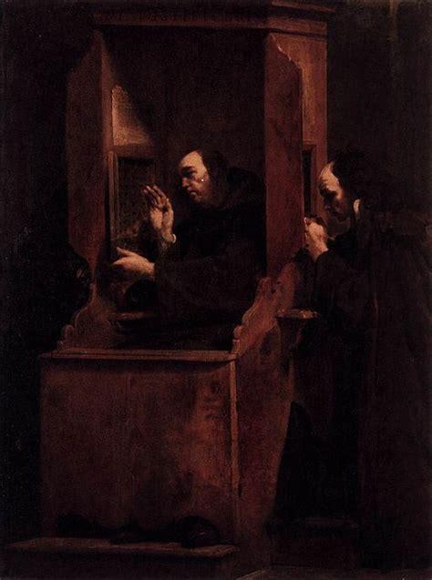 confess  sins   priest     talk  god