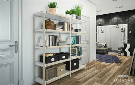 Stylish St Petersburg Apartment For An Artistic Professional Includes Floor Plan by Stylish St Petersburg Apartment For An Artistic