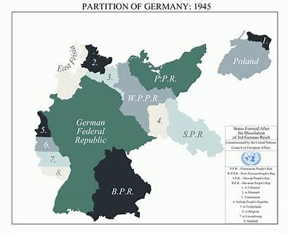 Alternate Partition German Deviantart Map Germany History