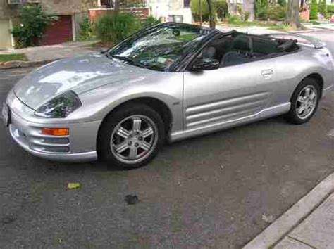 2001 Mitsubishi Eclipse Spyder Gt Convertible by Sell Used One Owner 2001 Mitsubishi Eclipse Spyder Gt