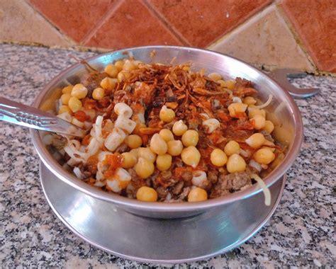 cuisine egyptienne koshari en kung food
