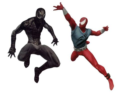 spider costumes alternate dimensions shattered negative zone game scarlet left revealed