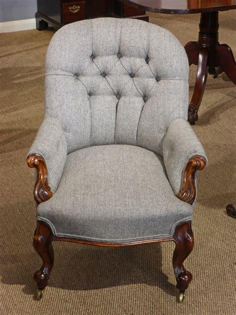 small antique arm chair antique nursing chair antique bedroom chair antique button  chair