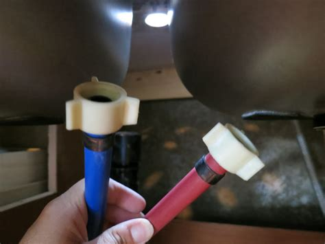 how to install pex pipe under sink life rebooted replacing our kitchen faucet