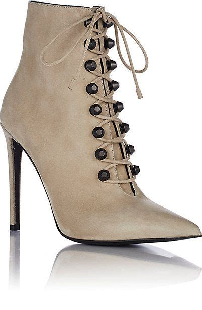 balenciaga studded side zip ankle booties ankle boots barneys fall new looks