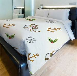 Nautical Christmas Bedding - Nautical Snob