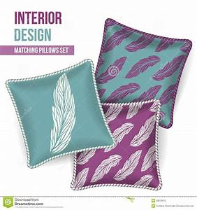 set of decorative pillow stock image image of color With decorative pillows for less