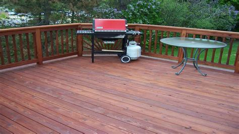 superdeck transparent stain  pressure treated wood