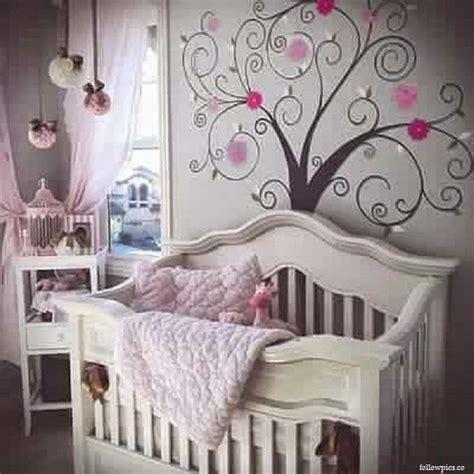 d馗oration pour chambre de fille déco chambre fille bebe