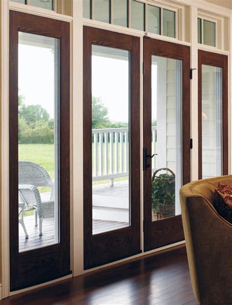 hinged doors patio doors steubenville  window world  steubenville
