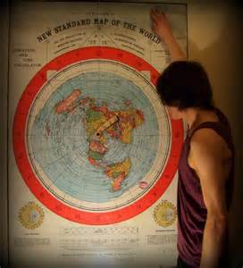 New Standard of World Flat Earth Map